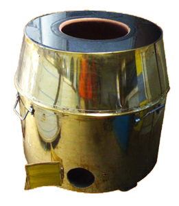 Barrel shdaped Brass tandoor